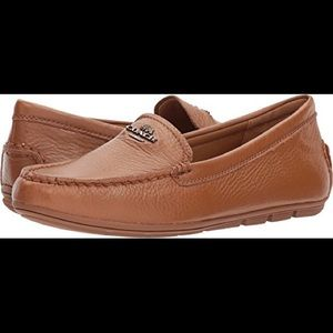Mary Lock Up Coach Loafers